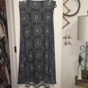 Lularoe xl maxi skirt